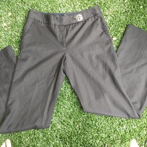 Tory Burch black wide leg trouser